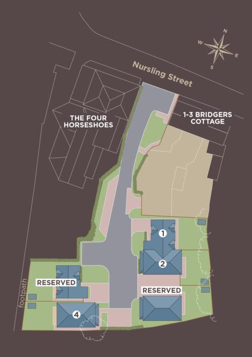 Cottages - Plot Plan